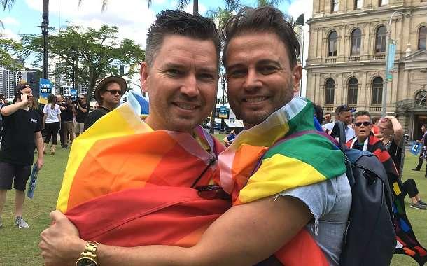 Queensland Couple Brad and Scott