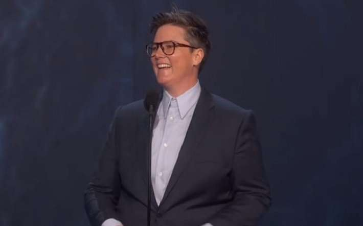 comedian Hannah Gadsby at the 2018 Emmys