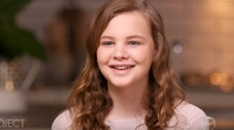 Transgender teenager Evie Macdonald has shared more of her story on The Project