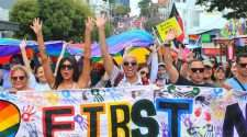 Brisbane Pride Festival 2018 march