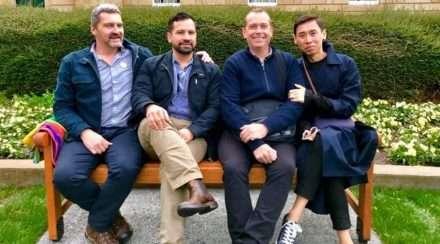 Rodney Croome on Tasmania lgbtiq equality memorial bench