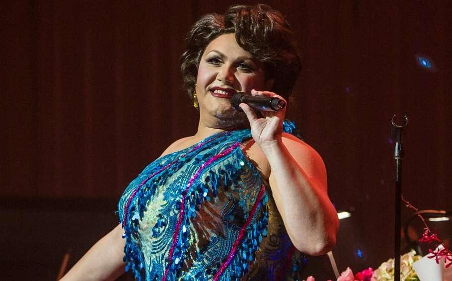 Australian drag queen trevor ashley