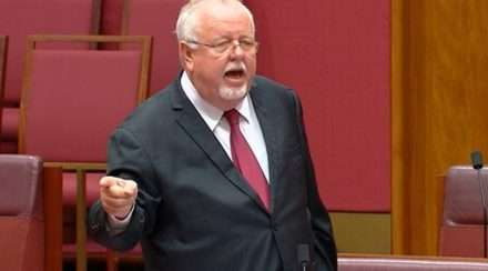 Nationals Senator Barry O'Sullivan