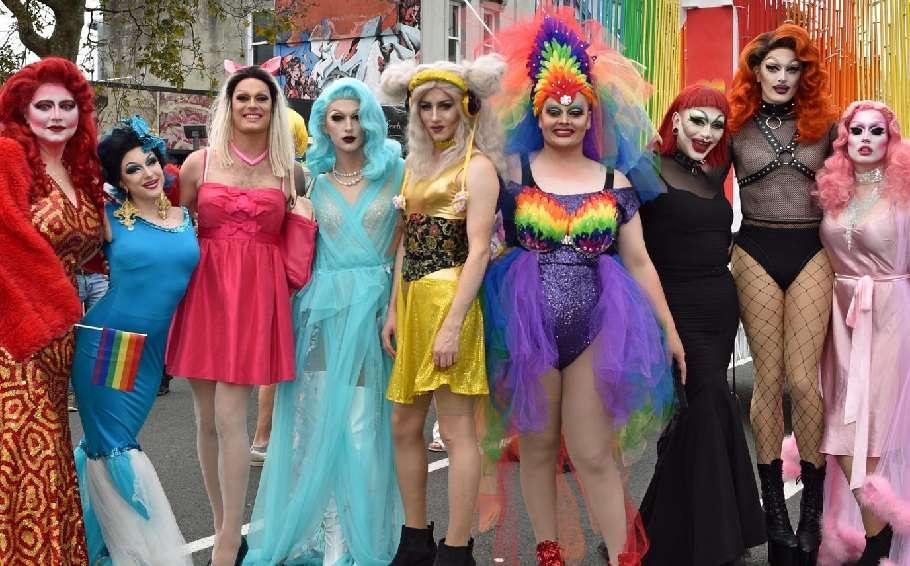 Auckland Pride Festival drag queens