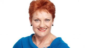 One Nation Senator Pauline Hanson