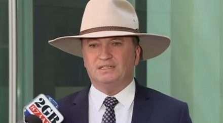 nationals coalition mp Barnaby Joyce