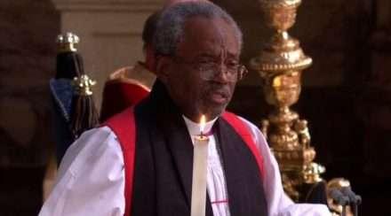royal wedding bishop