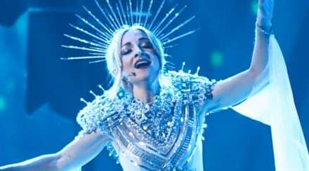 Kate Miller-Heidke peforms at Eurovision: Australia Decides 2019
