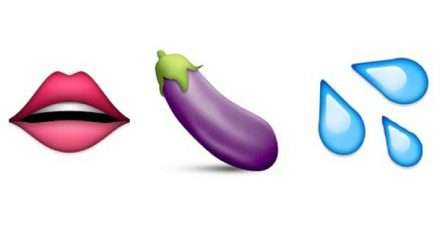 sexually suggestive emojis