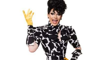 Queensland drag star Gayleen Tuckwood