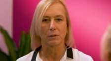tennis legend Martina Navratilova