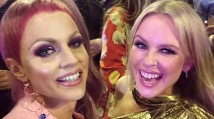 Courtney Act Mardi Gras Kylie Minogue