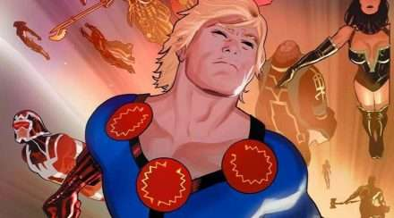Marvel the eternals comic book art