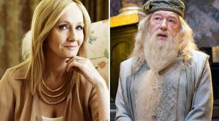 jk rowling albus dumbledore harry potter