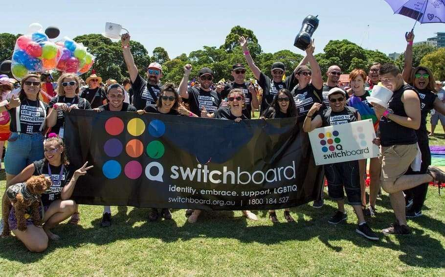 switchboard victoria at midsumma in melbourne