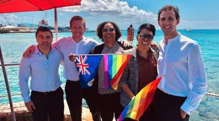 cayman islands same-sex marriage lesbian couple