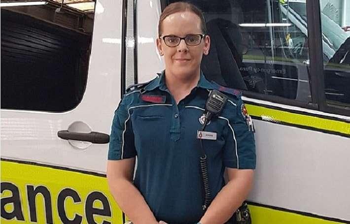 queensland ambulance service jennifer transgender day of visibility