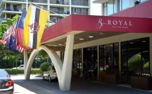 royal on the park hotel protest boycott shell
