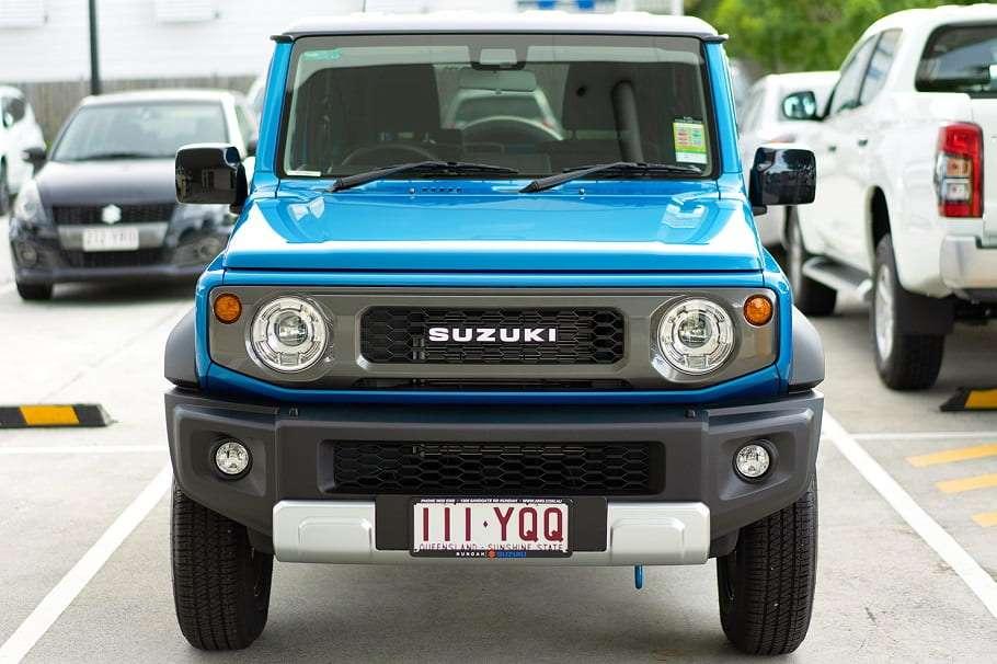 nundah suzuki jimny all-terrain suv in carpark
