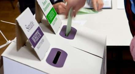 Australian Electoral Commission ballot box voting election