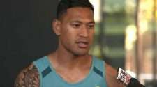 wallabies and waratahs player israel folau anti-gay social media post