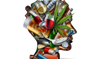 drugs and drug use concept stock photo