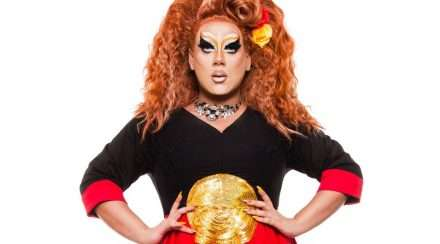 brisbane drag queen chocolate boxx