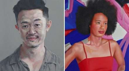 Benjamin Law Faustina Agolley-portraits Archibald Prize 2019