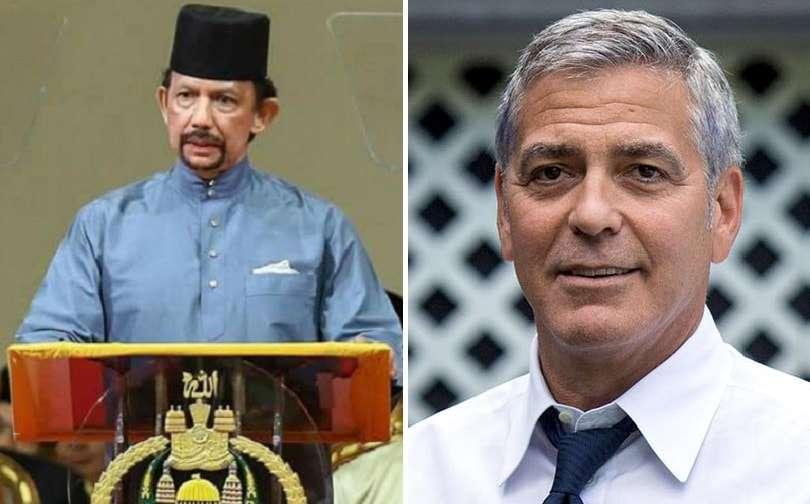 Sultan of Brunei George Clooney gay boycott