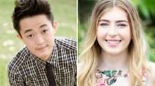 queensland author benjamin law and trans advocate georgie stone