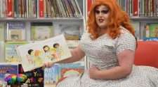 melbourne drag queen annie depressant rainbow story time