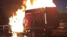 pauline hanson one nation truck fire