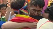 taiwan gay couple same-sex marriage legalised weddings taipei