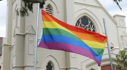 uniting church in australia church rainbow flag same-sex marriages anglican church diocese newcastle synod
