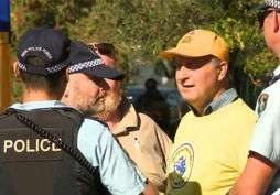 Clive Palmer's United Australia Party flasher