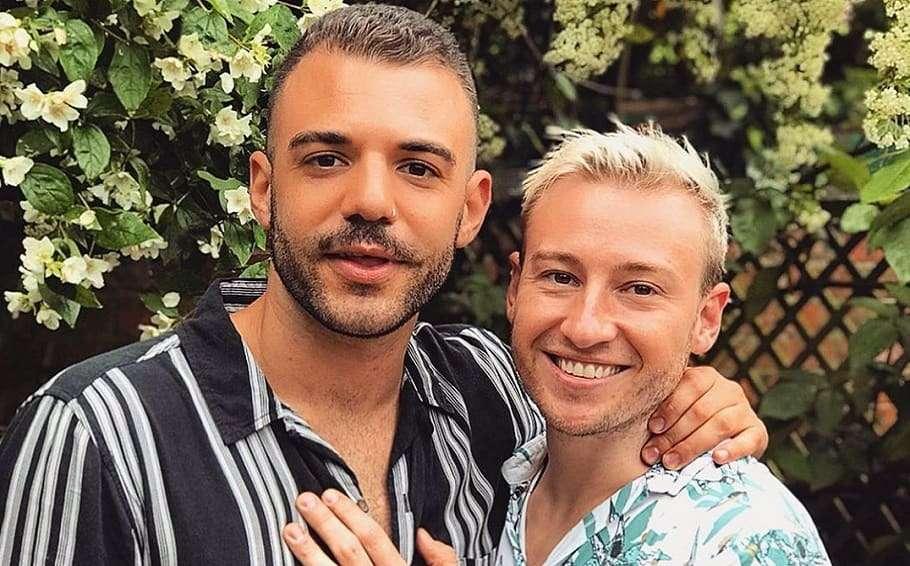 matthew mitcham instagram engaged luke rutherford boyfriend gay couple