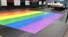 hurstville sydney georges river council rainbow crossing pride month