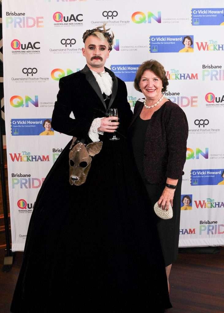 queens ball awards dylan hodgon vicki howard brisbane pride