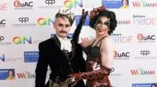 queens ball awards brisbane pride dylan hodgon gayleen tuckwood