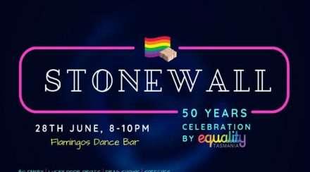 stonewall riots 50th anniversary equality tasmania