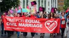 northern ireland marriage equality uk same-sex marriage banner united kingdom love equality