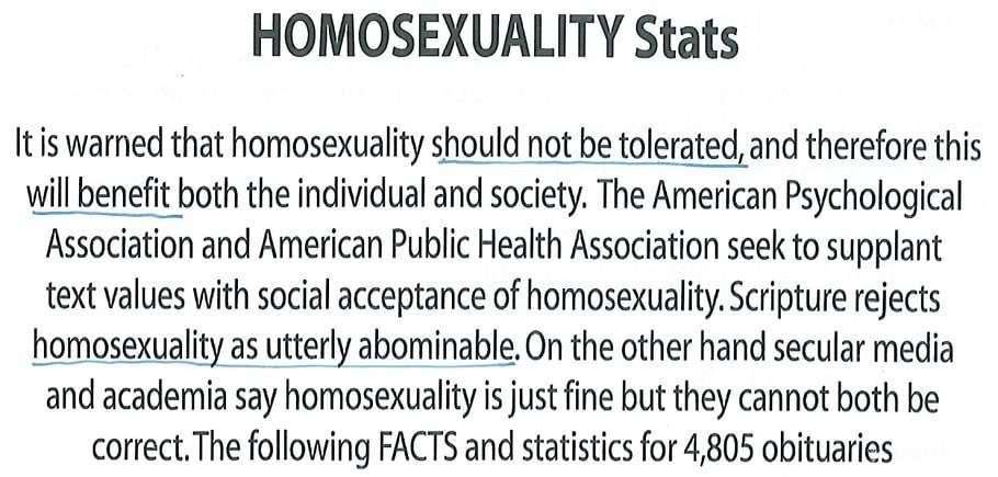 Tasmania supreme court anti-gay flyers james durston