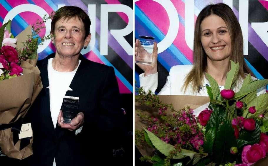 honour awards 2019 robyn kennedy dr shirleene robinson