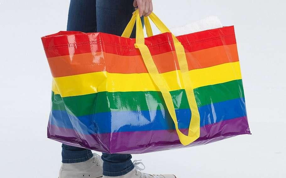 ikea rainbow bag pride month kvanting australia