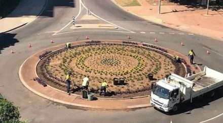 darwin pride festival rainbow roundabout northern territory