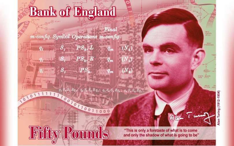 £50 bank of england alan turing