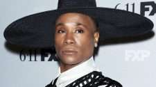 billy porter pose nude scene