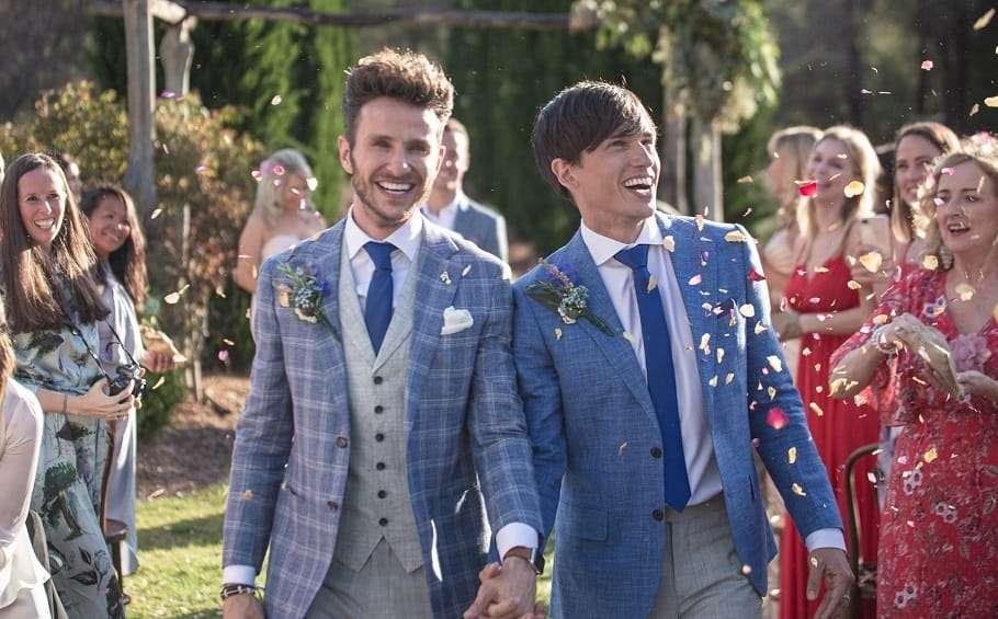 same same wedding expo 2019 brisbane powerhouse gay couple same-sex marriage
