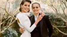 moana hope aflw isabella carlstrom wedding same-sex marriage