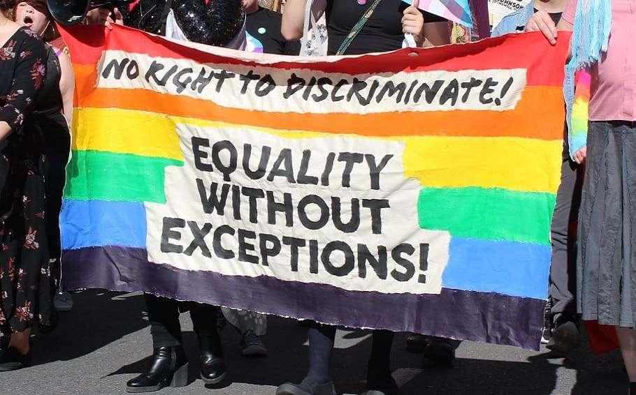 melbourne religious discrimination rally ali hogg roz ward